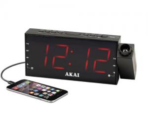 Akai ACR-1001 Ψηφιακό ξυπνητήρι ραδιόφωνο με προτζεκτορα