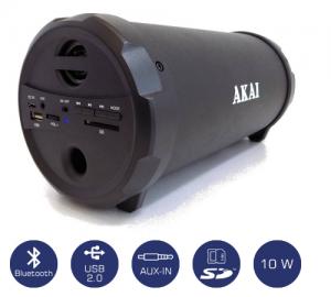 Akai ABTS-12C φορητό ηχείο bluetooth με usb