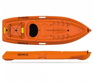 Μονοθέσιο Primus 1 καγιάκ 1+1 θέσεων seaflo με κουπί και πλάτη
