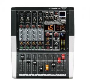 AXD Sound.TE400.Αυτοενισχυόμενος μικροφωνικός μίκτης 4 καναλιών.2X250W.