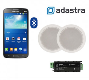 Adastra AD-IW30BEC56V. Ολοκληρωμένο Σύστημα Bluetooth Ενισχυτή Με Ηχεία Οροφής