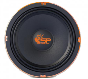 SP Audio SP8CM Slim. Midrange.150w.RMS.4Οhm.[Ζευγος].