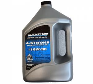 Quicksilver λαδια τετραχρονης μηχανης 10W-30. 4lt