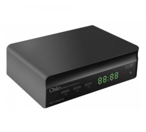 Osio OST-7085FHD DVB-T/T2 full HD mpeg-4 3D ψηφιακός δέκτης