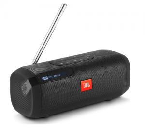 JBL Tuner Aδιάβροχο ηχείο Bluetooth με ράδιο, μαύρο