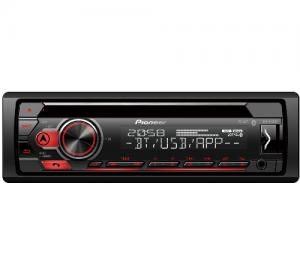 Pioneer DEH-S410BT  Ραδιο-CD με Bluetooth, άμεσο έλεγχο iPhone-Android ,USB