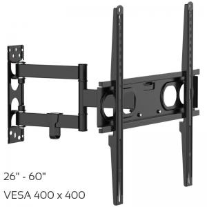 Osio OSM-7860 Βάση τηλεόρασης 26″ – 60″ – VESA 400 x 400