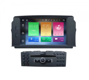 Bizzar MB04 Οθόνη Mercedes C Class W204 Android 8.0 8core Navigation.