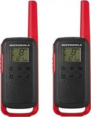 Motorola TALKABOUT T62 Walkie Talkie Κόκκινο 8 km