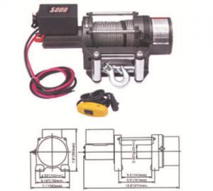 Ηλεκτρικός εργάτης DW-5000LBS - 12V