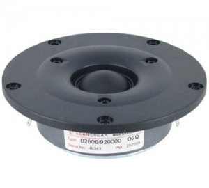 Scanspeak D2606/920000 dome tweeter 91,36db 6 Ohm