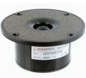 ScanSpeak D2010/851300 Dome Tweeter 98 mm 150 Watt 90 db 8Ω