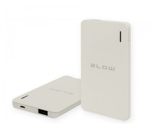 BLOW  6000MAH 1XUSB PB12 POWER BANK ΓΚΡΙ