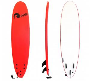 Σανίδα surf Soft-board 7ft Kόκκινη SCK