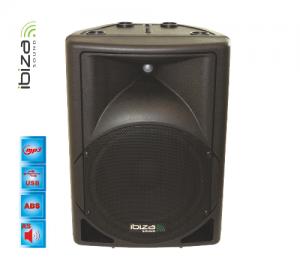 Ibiza sound MK12AMP-USB 12