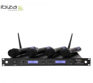 Ibiza UHF40 ασύρματο σύστημα μικροφώνου