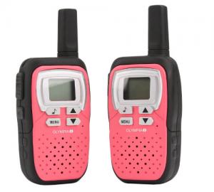 Olympia 1208 PMR walkie talkie 8 km ροζ