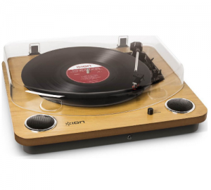 ION Audio Max LP ολοκληρωμένο πικάπ ιδανικό για μετατροπή δίσκων σε MP3