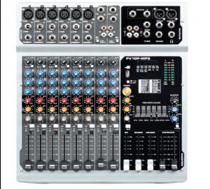 Hl-Audio PV10P-MP3 κονσόλα αυτοενισχυόμενη  2x 250w RMS.