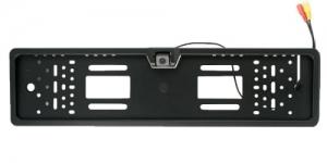 RC PLATE Πλαίσιο Πινακίδας Με Ενσωματωμένη Αδιάβροχη Κάμερα Οπισθοπορείας Με Ρυθμιζόμενη Κλίση έως 45°