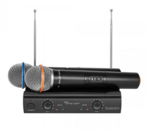 AZUSA V3000 Ασυρματο συστημα 2 μικροφωνων.VHF.
