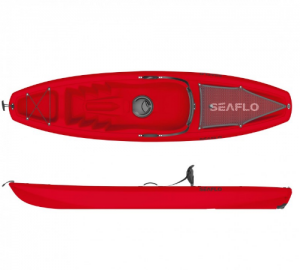 Μονοθέσιο καγιάκ Puny  Seaflo SF-1003 Red με κουπί (κοκκινο)