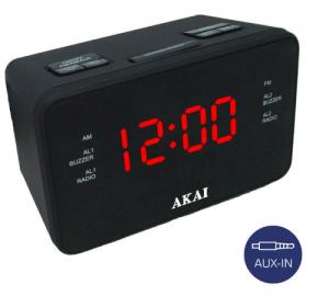 Akai ACR-1318 ψηφιακό ξυπνητήρι με ραδιόφωνο