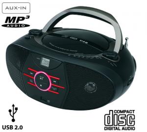 Elite BB-18 φορητό ηχοσύστημα με cd, usb και aux in 2w