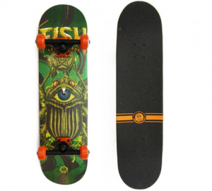 Fish Three Eye Goat 31'' Ξύλινη Σανίδα Skateboard