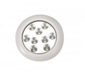 Πλαφονιέρα υποβρύχια 9 LED INOX