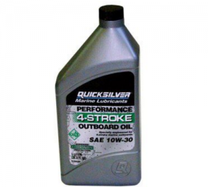 Quicksilver λαδια τετραχρονης μηχανης 10W-30. 1lt