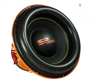 SP Audio SP15CXXX Subwoofer 15''38cm 3500Watt RMS 4Ohm.2+2Ohm.