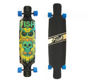 Fish Twin-Tip 41'' Owl Fish Ξύλινη Σανίδα Skateboard