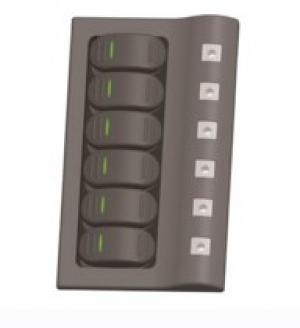 Πίνακας LED 6 θέσεων