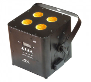 FREEPARHEX-BL Προτζεκτορας Par 4x10W RGBWA-UV 'AFX AIR'