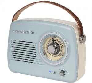Madison Freesound VR30 Φορητό ραδιόφωνο RETRO νοσταλγικής εμφάνισης, με bluetooth & FM 30W