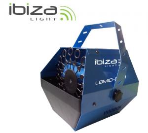 Ibiza LIGHT LBM10-BLU μηχανή για φούσκες (μπλέ)