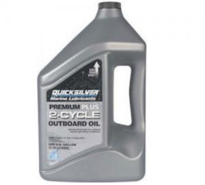 Quicksilver Λάδι Δίχρονης Μηχανής Premium Plus (4LT)