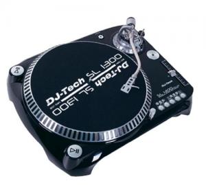 DJ-TECH SL1300MK6 QUARZ-DRIVEN DJ  PICK UP