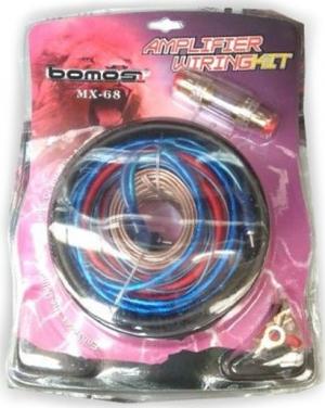 Bοmos MX-68.Κιτ Καλωδιων Ενισχυτη Αυτοκινητου 8G