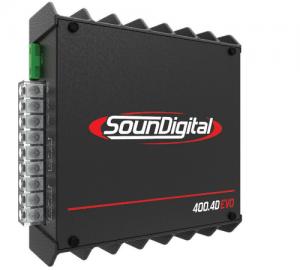 SounDigital SD400.4D EVO ενισχυτής 4  κανλίων 100w rms