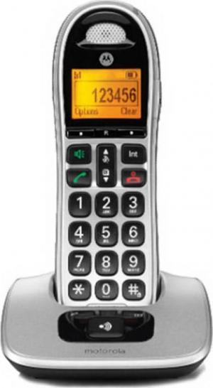 Motorola CD301 Ασύρματο Τηλέφωνο με Υποδοχή Hands Free