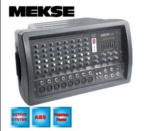 Meske M-258 αυτοενισχυόμενη κονσόλα 8 καναλιών