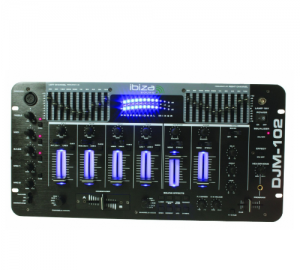 Ibiza DJM-102 μίκτης ήχου 19''
