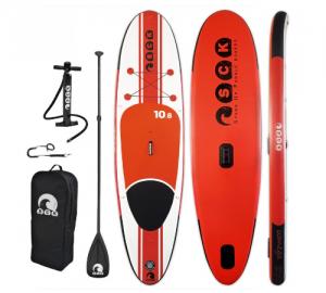 SCK φουσκωτή σανίδα SUP/windsurf ωmega 10'8'' πακέτο