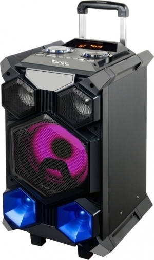 Ibiza.SPLBOX350-PORT.Φορητο αυτονομο ηχοσυστημα 350W.