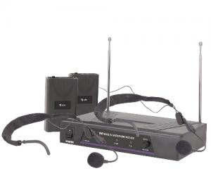 QTX Sound VN2 Σετ Ασύρματου Μικροφώνου Με Δέκτη