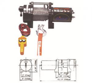 Ηλεκτρικός εργάτης BADA DW-2000LBS -12V