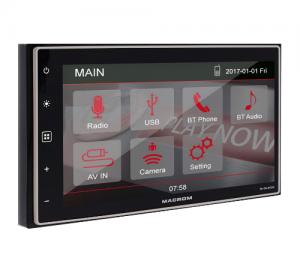 Macrom M-DL4000. 2DIN Οθόνη Multimedia 6.8