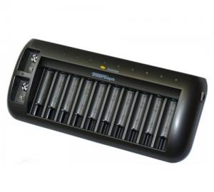 MINWA MW8998 φορτιστής μπαταριών 10XAA-AAA-2X9V